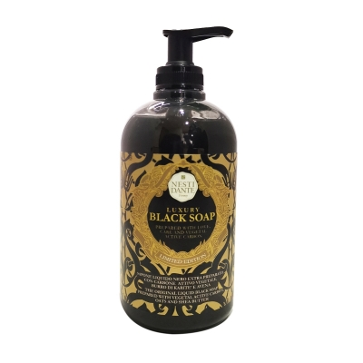 Jabón Black Soap 500 ml.