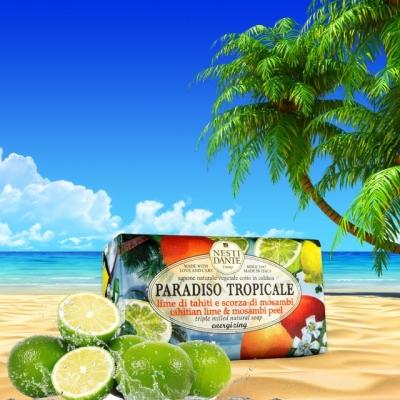 Paradiso Tropicale - Lima tahitiana y cáscara de mosambi