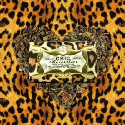 Chic Animalier - Leopardo bronce